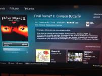 Fatal Frame II Crimson Butterfly en PSN