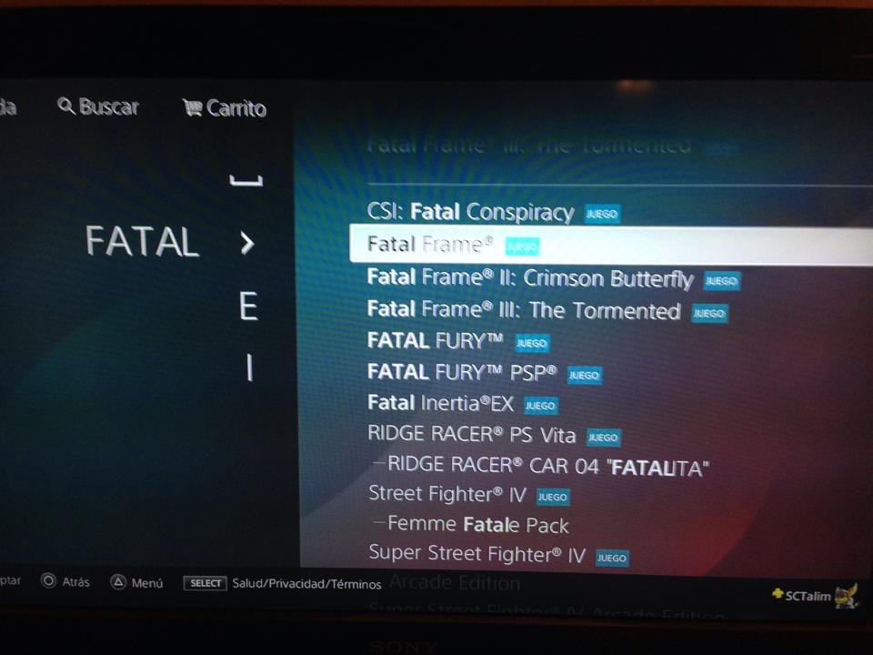 Fatal Frame III: The Tormented ya disponible en PSN – Cherry Honey