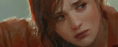fan art ellie mayor the last of us banner