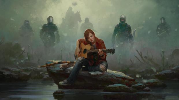 Marek Okon fan art de Ellie The Last of Us
